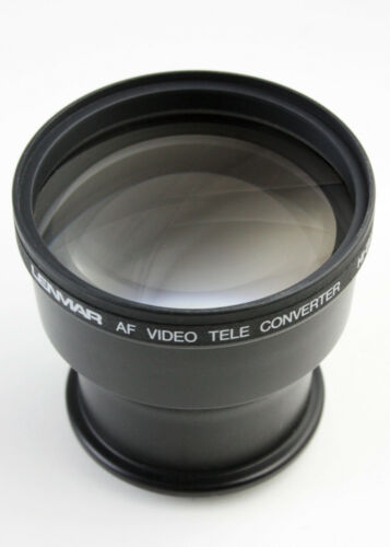 U199589 Lenmar AF Video Teleconverter 3X Hi-Band 37mm & 50mm Threads