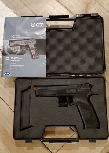ASG CZ P-09 Airsoft GBB Gas Blowback Pistol