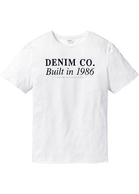 Drucken Regular Fit Hemd (T-Shirt mit Druck Regular Fit Gr. 68/70 (4XL) Weiß Herrenshirt Hemd Neu)