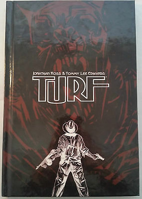 Turf (Black Variant Hardcover) by Jonathan Ross & Tommy Lee Edwards (Signed!)
