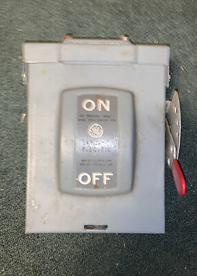 Ge General Electric Tc24211 Quick Disconnect Switch Box 30 Amp Type G Model 1