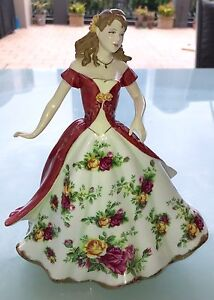 Royal Albert 100 Yr LIMITED EDITION FIGURINE of YEAR 2008 Kangaroo Point Brisbane South East Preview