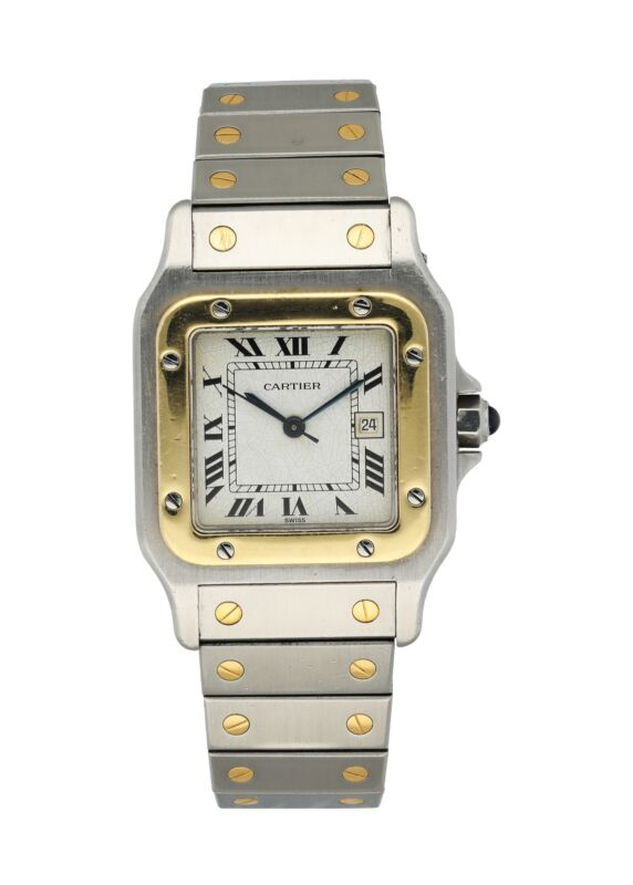 Cartier Santos Galbee Mens Watch - watch picture 1