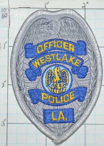 "LOUISIANA, WESTLAKE POLICE DEPT OFFICER 3.5"" SMALL HAT PATCH"