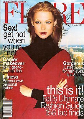 1999 Flare Fashion Magazine Toronto Canada Hair Style Fitness Sex Ads 90s