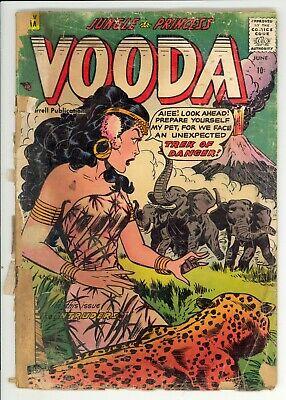 Vooda (1955) #21 Ajax Matt Baker Cover and Art GGA Golden Age Complete Poor