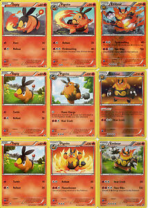 Details about 9 Pokemon Cards  Emboar Holo Evolution 26 149  20 114    Emboar Mega Evolution Card