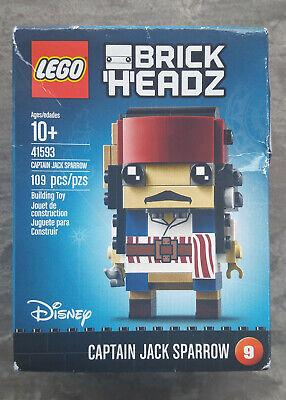 Lego Brickheadz Disney Captain Jack Sparrow #9 *New*