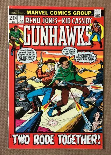 Gunhawks #1 (1972)