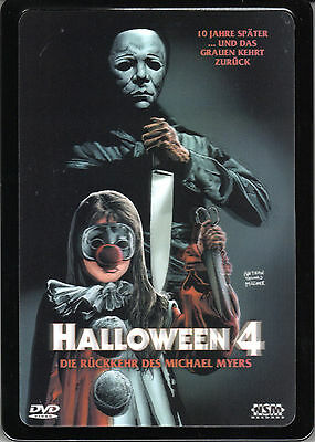 Halloween 4 , The Return of Michael Myers , 3D-Holocover Metalpak , uncut , NEW