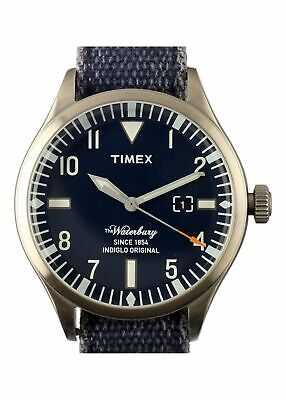 TIMEX ARCHIVE MENS WATCH MODEL WATERBURY (TW2U00300LG)