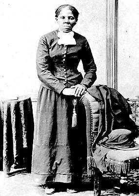 Underground Railroad Worker Harriet Tubman Civil War Union Spy   5X7 Photo