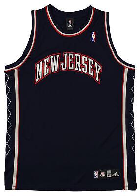 Adidas NBA Men's Blank New Jersey Nets Basketball Jersey, Navy