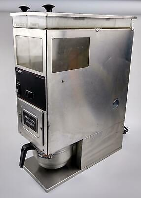 Bunn G9 Series Dualtwin Hopper Commercial Coffee Grinder - Model G9 2t Working