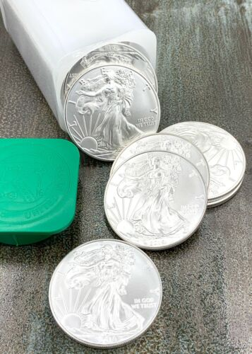 1 oz. 2019 Silver American Eagle Coins BU