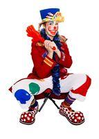 Pinceau le clown chez toi! Animation fête d'enfants