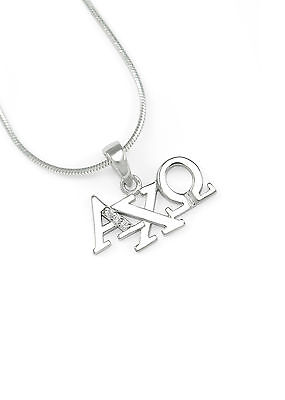 Alpha Chi Omega (A-CHI-O) Sorority Charm with Greek Letters   Brand New!!**