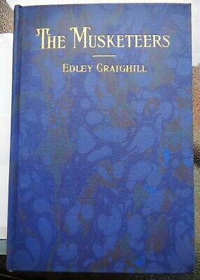 THE MUSKETEERS - Mexican Border World War I 1st VA Infantry LYNCHBURG rare book
