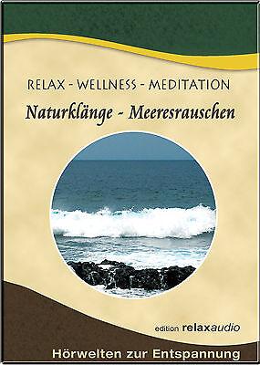 MEERESRAUSCHEN CD - OZEAN TINNITUS WELLNESS RELAX MEDITATION ENTSPANNUNG NATUR