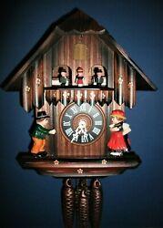 Vintage D.Hönes® Classic Musical Cuckoo Clock #80 w/Night Silencer