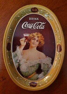 Vintage Drink Coca-Cola Tip Tray 1973 Reproduction of 1906 Model