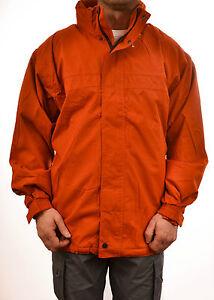 Regatta-da-uomo-SULLO-SFONDO-giacca-arancione-impermeabile-traspirante