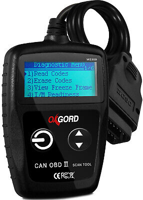 OBDII Scanner Code Reader OxGord MS300 OBD2 Scan Tool Diagnostic SUV Car - Laser Multi Interface