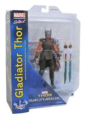 Marvel Select Ragnarok Gladiator Thor 7 inch Diamond Select Toys  Action Figure