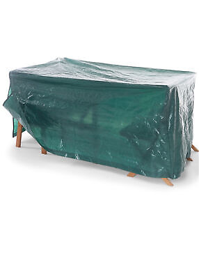 Schutzhülle für Gartenmöbel Sets Gr. B-229xH-90xT-114 cm Grün Neu