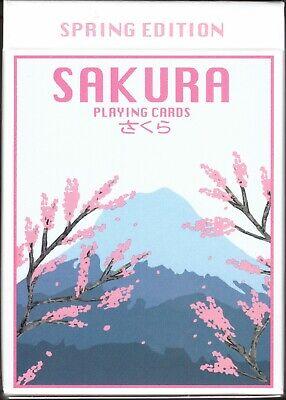 Sakura Spring - Sakura Spring Playing Cards - New - USPCC - Limited Edition
