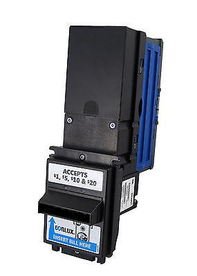 Conlux 3120//3140 Bill Validator accepts $1 /& $5 MDB 24 Volts Tested Warranty