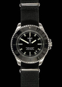 mens military divers watches brand new mwc automatic h3 gtls tritium stainless steel military divers watch