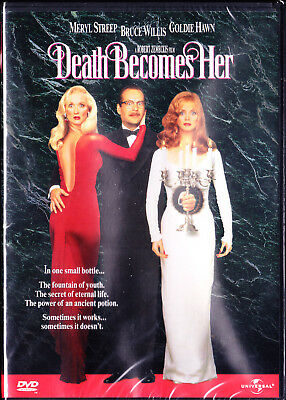 Death Becomes Her Meryl Streep   Goldie Hawn   Bruce Willis  New Sealed
