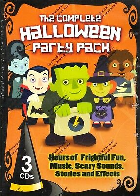 THE COMPLETE HALLOWEEN PARTY PACK: SCARY SONGS, SOUNDS & STORIES FOR KIDS! - Halloween Songs Pop