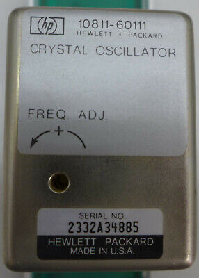 Hp 10811-60102 Hp 10811e Crystal Oscillator 10.000000 Mhz With Mounting Board