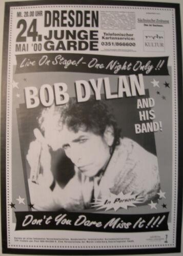 BOB DYLAN CONCERT TOUR POSTER 2000