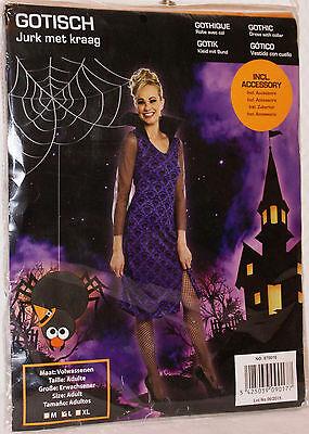 Gothic / Gotic Kostüm für Erwachsene Karneval Halloween Grösse -