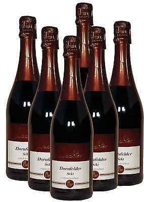 6 Fl. Dornfelder Sekt extra-trocken - Direkt vom Weingut Wachter -