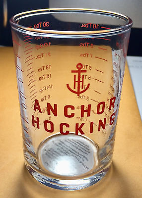 Anchor Hocking 5 oz Clear Glass Measuring Cup & Bar Tools - Jigger & Shot Glass