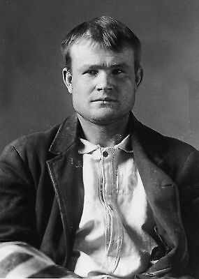 1894  Bank Robber Butch Cassidy Wyoming Territorial Prison Laramie  Wy  Mugshot