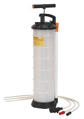 Sealey TP69P Vacuum Oil & Fluid Extractor Manual 6.5ltr