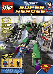 BRAND NEW RARE Lego DC Super Heroes Superman vs Power Armour Lex 6862 - BNIB