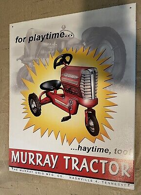 Classic Tin Signs Retro Metal Sign Decor Vintage Toy Murray Tractor Advertising