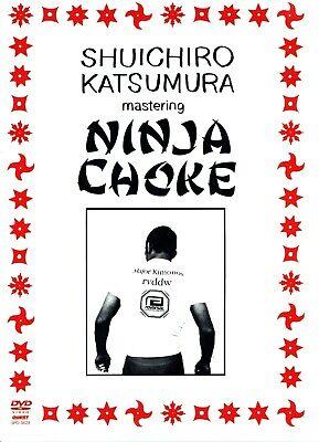 MASTERING THE NINJA CHOKE DVD Training Set Brazilian Jiu Jitsu MMA BJJ B347