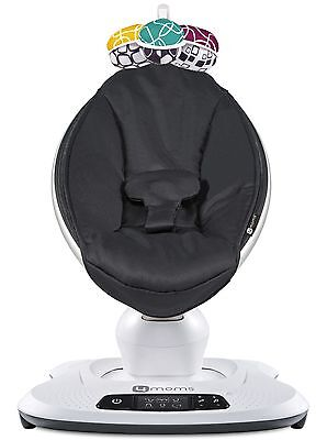 4Moms Mamaroo 4 Infant Reclining Seat Rocker Bouncer Swing 2018 Classic Black for sale  Whittier