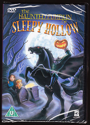 OF SLEEPY HOLLOW - HALLOWEEN STORY - NEW & SEALED R2 DVD (Sleepy Hollow Halloween)