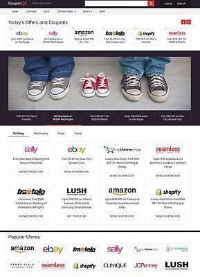 Online Coupons Website