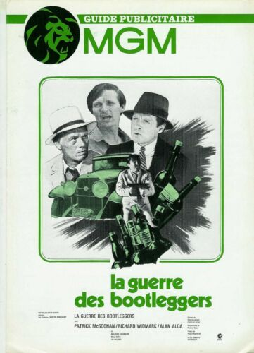 RICHARD WIDMARK PATRICK McGOOHAN French Pressbook MGM MOONSHINE WAR