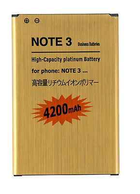 4200mAh High Capacity Battery for Samsung Galaxy Note 3 N9000