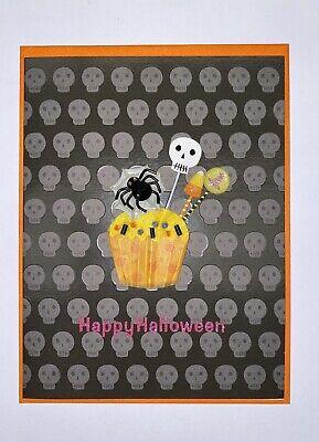 "Papyrus Halloween Greeting Card - Scary Cupcake - 4.5"" x 6"""